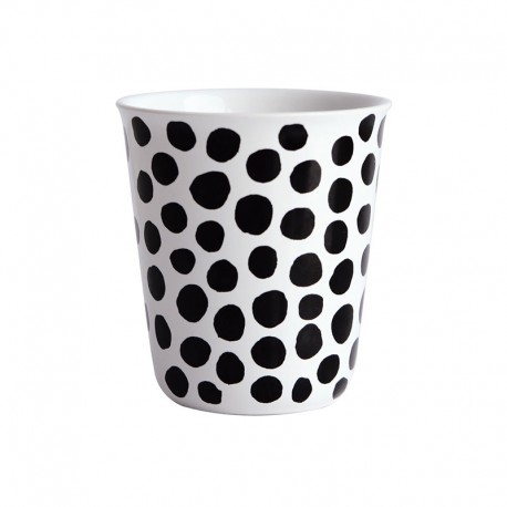 Espresso Cup Dots Ø6,5Cm - Coppetta Black And White - Asa Selection ASA SELECTION ASA44007214