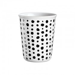 Espresso Cup Spots Ø6,5Cm - Coppetta Black And White - Asa Selection