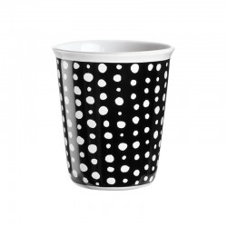 Espresso Cup White Spots Ø6,5Cm - Coppetta Black And White - Asa Selection