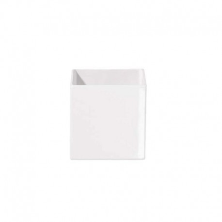 Planter 8Cm - Quadro White - Asa Selection ASA SELECTION ASA4602005