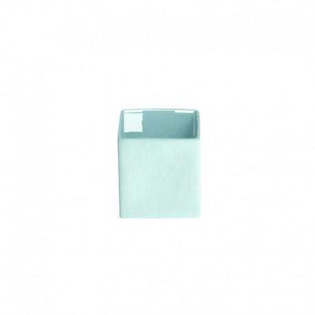 Florero 9Cm - Cubeblue Azul Agua - Asa Selection ASA SELECTION ASA46022108