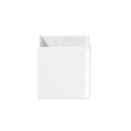 Planter 12Cm - Quadro White - Asa Selection ASA SELECTION ASA4603005