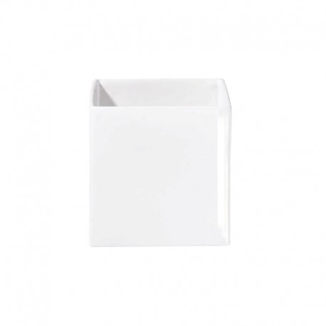 Planter 18Cm - Quadro White - Asa Selection ASA SELECTION ASA4623005