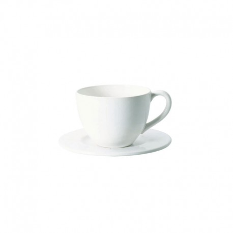 Cup With Saucer 300Ml - Grande White - Asa Selection ASA SELECTION ASA4705147
