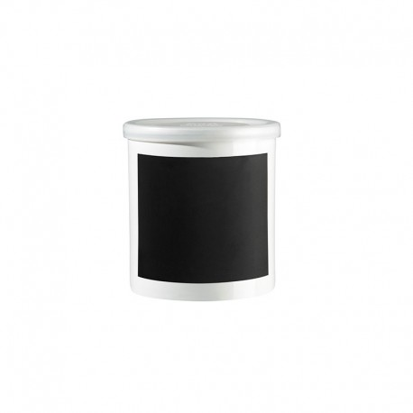 Jar With Chalk Decal 10Cm - Memo White - Asa Selection ASA SELECTION ASA4879147