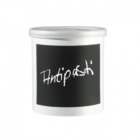 Jar With Chalk Decal 14Cm - Memo White - Asa Selection ASA SELECTION ASA50709147