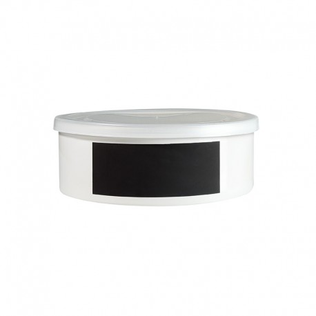 Jar With Chalk Decal 8Cm - Memo White - Asa Selection ASA SELECTION ASA51709147