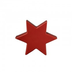 Decorative Star 10cm Red - Xmas - Asa Selection