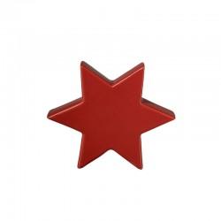 Estrela Decorativa 10cm Vermelho - Xmas - Asa Selection