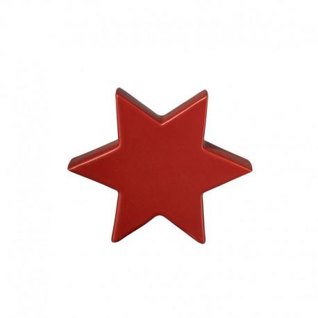 Decorative Star 10cm Red - Xmas - Asa Selection ASA SELECTION ASA6110051