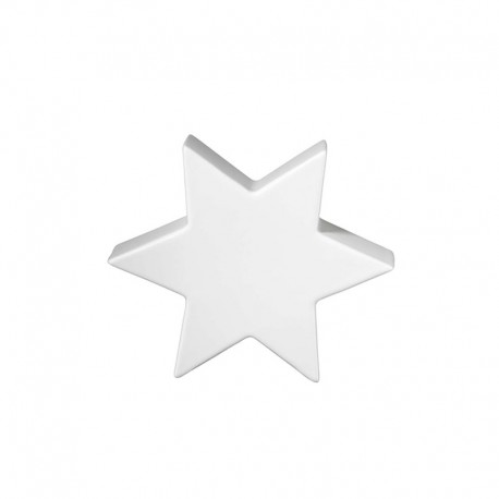 Decorative Star 10cm White - Xmas - Asa Selection ASA SELECTION ASA6110091