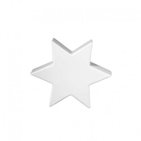 Decorative Star 10cm White - Xmas - Asa Selection ASA SELECTION ASA6110091
