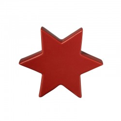 Decorative Star 16cm Red - Xmas - Asa Selection