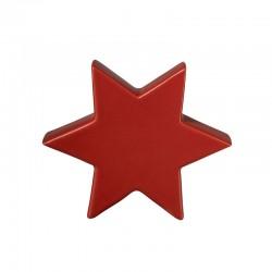 Estrela Decorativa 16cm Vermelho - Xmas - Asa Selection