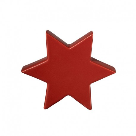Decorative Star 16cm Red - Xmas - Asa Selection ASA SELECTION ASA6112051