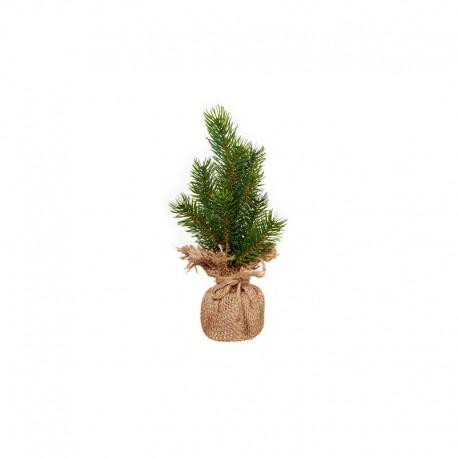 Mini Pinheiro Artificial de 25cm - Quadro Verde E Castanho - Asa Selection ASA SELECTION ASA66230444