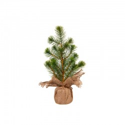 Artifical Pine Tree 33cm - Quadro Green And Brown - Asa Selection ASA SELECTION ASA66231444