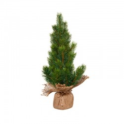 Artifical Pine Tree 40cm - Quadro Green And Brown - Asa Selection ASA SELECTION ASA66232444