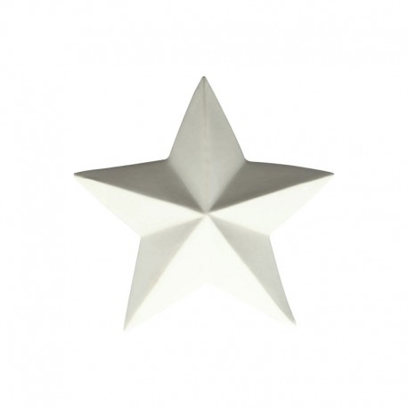 Decorative Star ø7,6cm White - Xmas - Asa Selection ASA SELECTION ASA66780091