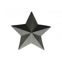 Decorative Star ø7,6cm Basalt - Xmas - Asa Selection