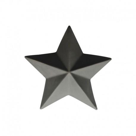 Decorative Star ø7,6cm Basalt - Xmas - Asa Selection ASA SELECTION ASA66780617