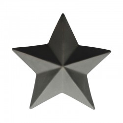 Decorative Star ø18,5cm Basalt - Xmas Basalto - Asa Selection