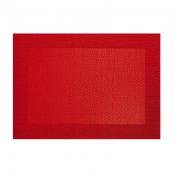 Placemat Red - Pvc - Asa Selection