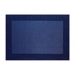 Placemat - Pvc Dark Blue - Asa Selection