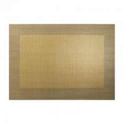 Mantel Individual Oro Metálico - Pvc - Asa Selection