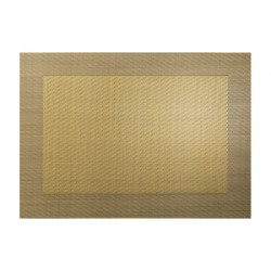 Placemat Gold Metallic - Pvc - Asa Selection