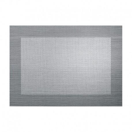 Placemat - Pvc Silver/black Metallic - Asa Selection ASA SELECTION ASA78088076