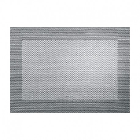 Placemat Silver and Black Metallic - Pvc Silver/black Metallic - Asa Selection ASA SELECTION ASA78088076