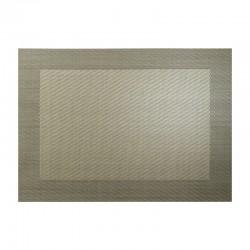 Mantel Individual Bronce Metálico - Pvc - Asa Selection