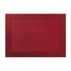 Mantel Individual Granada Roja - Pvc - Asa Selection