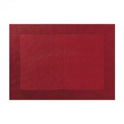 Mantel Individual - Pvc Granada Roja - Asa Selection