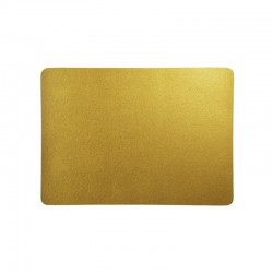Placemat - Leder Gold - Asa Selection
