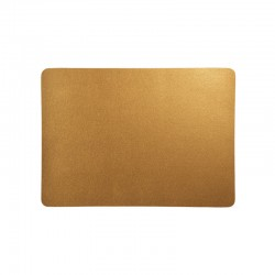 Placemat - Leder Brass - Asa Selection