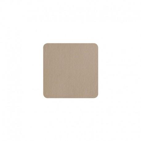 Conjunto De 4 Bases Para Copos - Leder Cinza Pedra - Asa Selection ASA SELECTION ASA7831420
