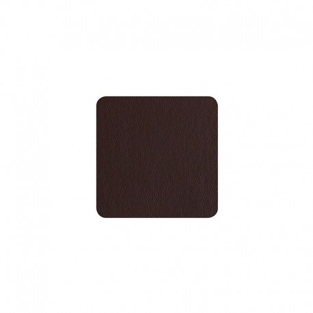 Conjunto de 4 Bases Para Copos - Leder Chocolate - Asa Selection ASA SELECTION ASA7834420