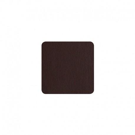 Conjunto de 4 Posavasos - Leder Chocolate - Asa Selection ASA SELECTION ASA7834420