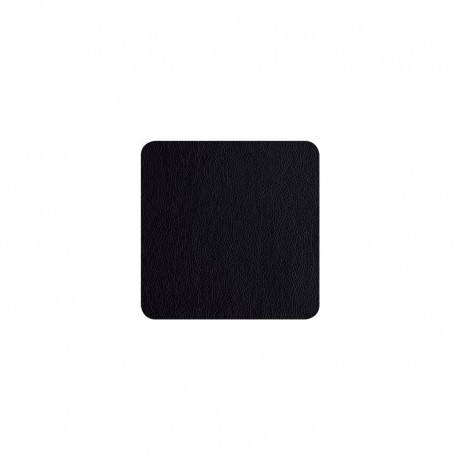 Set of 4 Coasters - Leder Black - Asa Selection ASA SELECTION ASA7835420