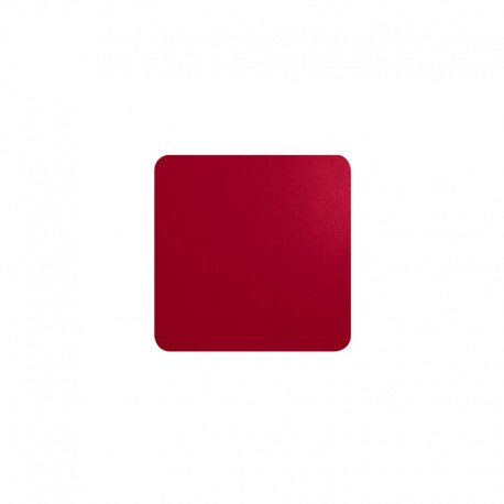 Conjunto de 4 Bases para Copos - Leder Vermelho - Asa Selection ASA SELECTION ASA7838420
