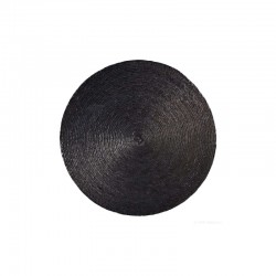 Placemat Round - Makaua Black - Asa Selection