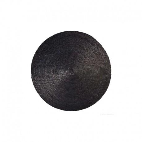 Placemat Round Black - Makaua - Asa Selection ASA SELECTION ASA79001058
