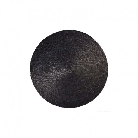 Placemat Round - Makaua Black - Asa Selection ASA SELECTION ASA79001058