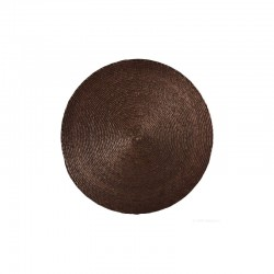 Placemat Round - Makaua Brown - Asa Selection