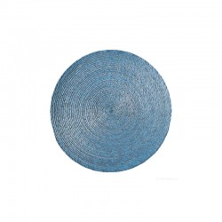 Placemat Round - Makaua Light Blue - Asa Selection