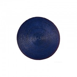 Mantel Individual Redondo Azul - Makaua - Asa Selection