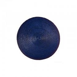 Mantel Individual Redondo - Makaua Azul - Asa Selection