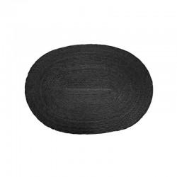 Placemat Oval - Makaua Black - Asa Selection